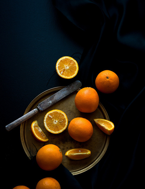 hiromitsu:  Citrus season! by stephsus on Flickr.  Beautiful