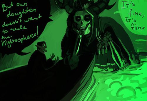 tench:  The post about the Lich being Marceline's mother dealt critical damage to my sanity And yes, Ponyo reference  GODDAMIT TENCH