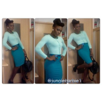 New #ootd post on junglebarbie.blogspot.com #pastel #fashion #fashionfacts #forever21  collar #forever21 bodycon skirt #junglebarbie1