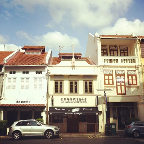 club street #architecture #archivingsg #sky #shophouse