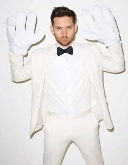 mensfashionworld:  Tobey Maguire by Terry Richardson German Interview Magazine