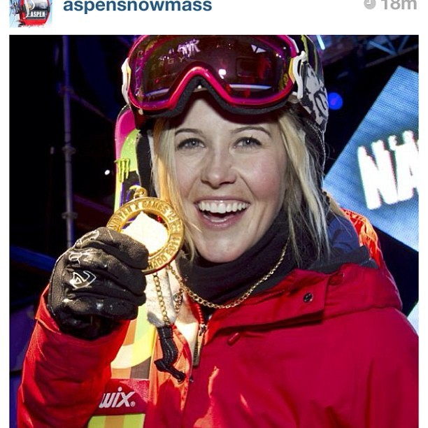 #regram from @aspensnowmass - one year ago we lost a legend and a hell of an inspiring girl #celebratesarah