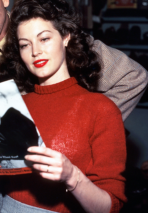 deforest:  Ava Gardner on the set of The Killers (1946)