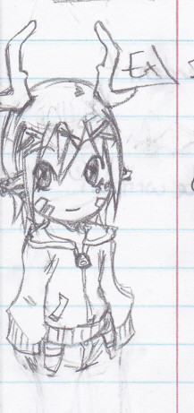 A little chibi doodle of Pieter that I did in my math notes lol.