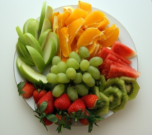 sherry-blossom:  Fruit plate