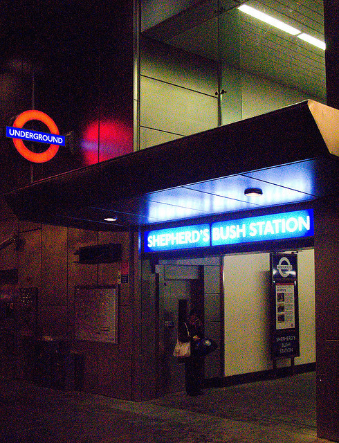 SHEPHERD'S BUSH CENTRAL 5 by Nigel Bewley on Flickr.