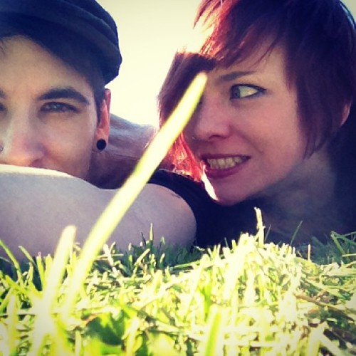 #altmodel #boy #blueeyes #friend #freckles #girl #ginger #greeneyes #grass #grin #me #makeup #myself #redhead #sg #sun #selfy #silly #salliss #selfportrait #suicidegirls #summer #may #wednesday