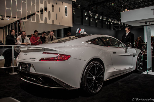 todaysthenight:  Inside the Aston Martin Booth