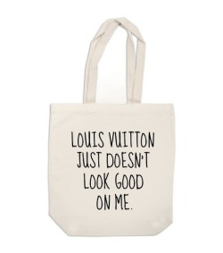// canvas tote bag Louis Vuitton Just Doesn't par ExLibrisJournals - Neeed //