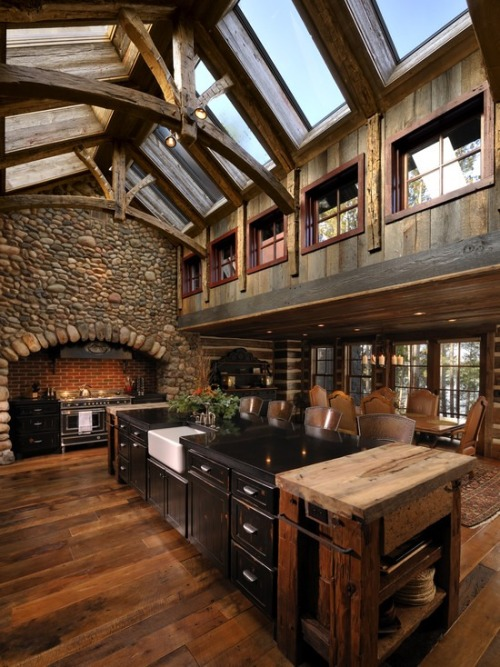 mylittledreamhome:  What a kitchen.