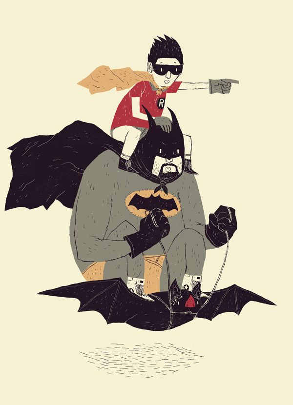 louisroskosch:  to the bat mobile!i've submitted this as a design to threadless, if you have an account please give me a vote! http://www.threadless.com/threadless/to-the-batmobile-2/