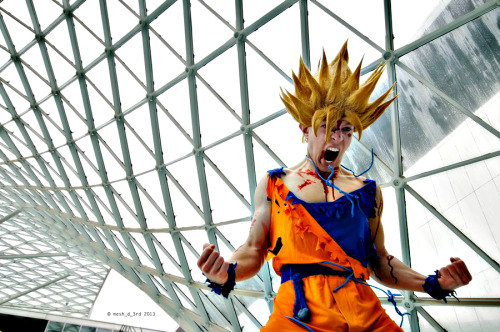 Cosplayer: Alex Gaiati Nationality: Italy Character: Son Goku ssj 2 version damaged Photographer: Mesh_d_3rd Photography  #goku ssj #dragon ball #cosplay #goku ssj cosplay #alex gaiati