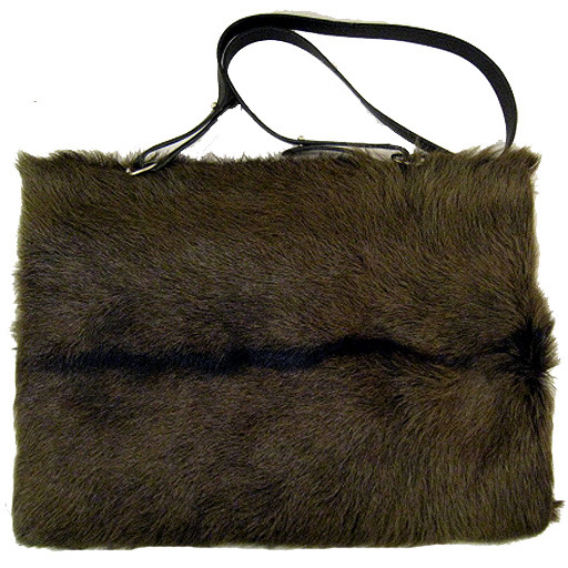 fur armwarmer with detachable sling • hermès198,000 円