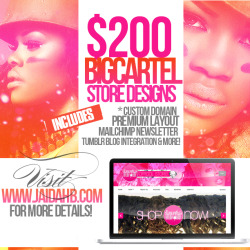 $200 BigCartel Websites!*Custom Domain is $30 extra. View Post