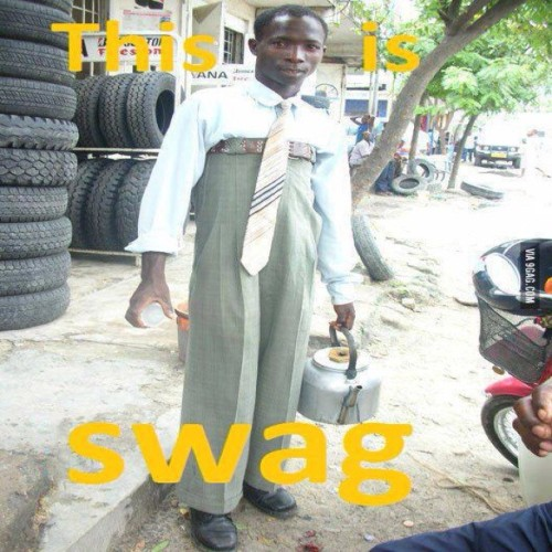 9gag:  This is real swag