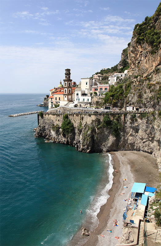 Atrani's sea - Salerno, Italy  | by © giorgimer  | via handa