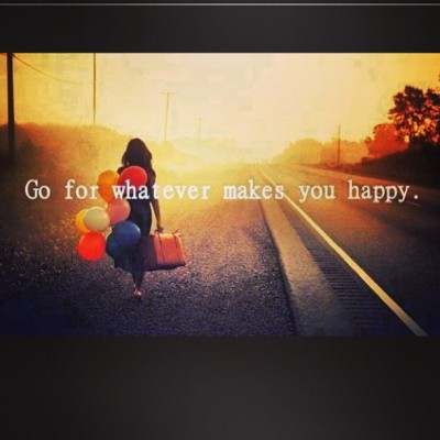 Go for whatever makes you #happy…. #noregrets #travel #love #adventure
