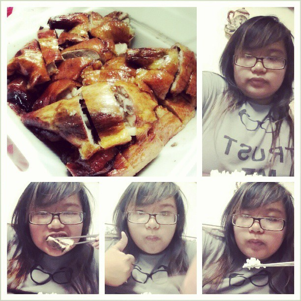 I finally got duck! ㅋㅋㅋ #duckhunt #over #satisfied #craving (at at home)