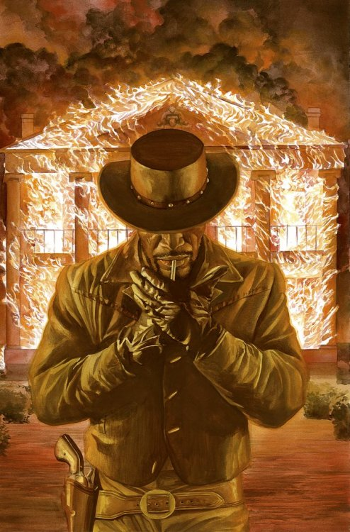 comicblah:  Django Unchained by Alex Ross (from Django Unchained #6M)