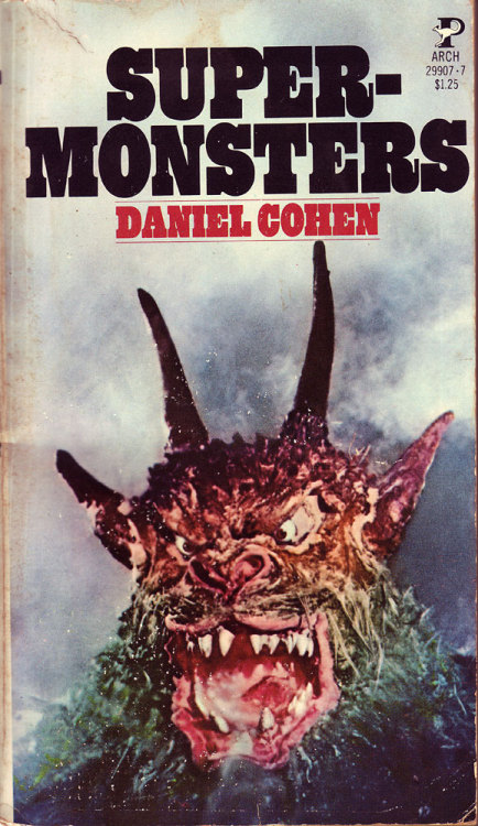 blueruins:  Super Monsters   Daniel Cohen's books are always worthwhile.