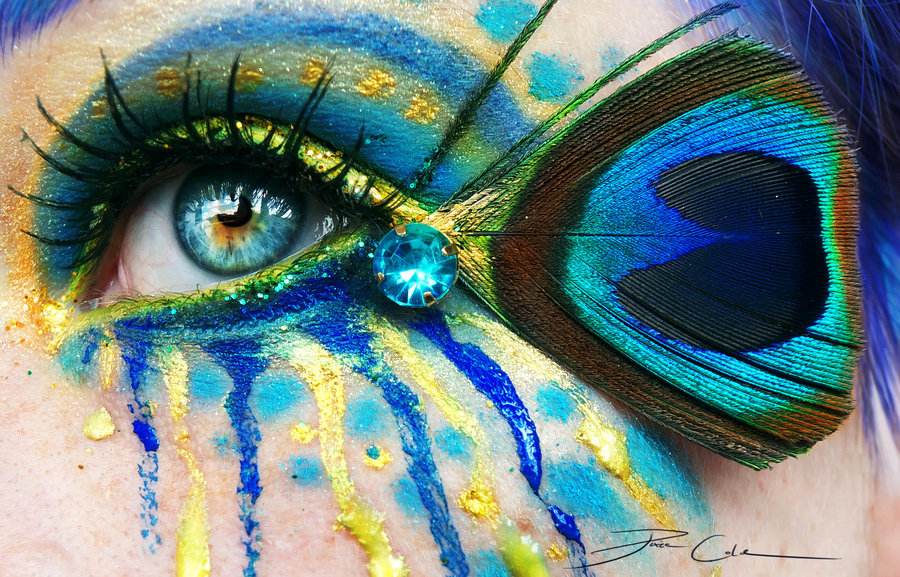 Crazy Peacock by =PixieCold on deviantART
