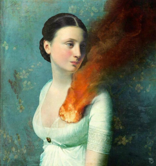 shitinbed:  Portrait of a Heart by Christian Schloe