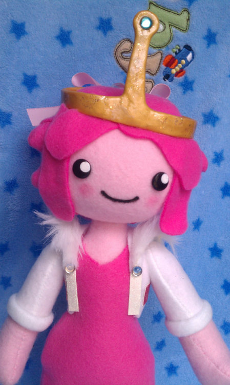 Princess Bubblegum Plush sold by TiffyCuppyCake $50