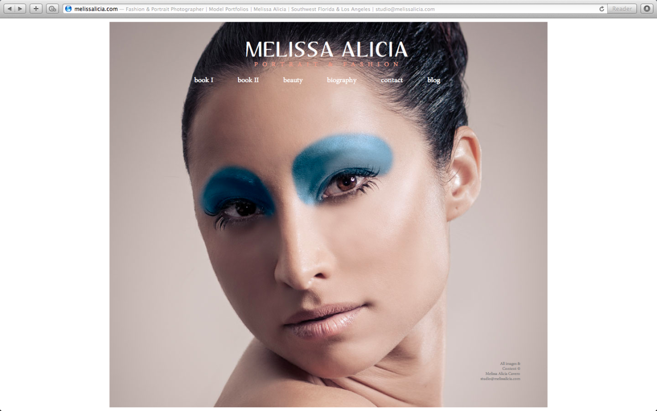New website is launched!  www.melissalicia.com