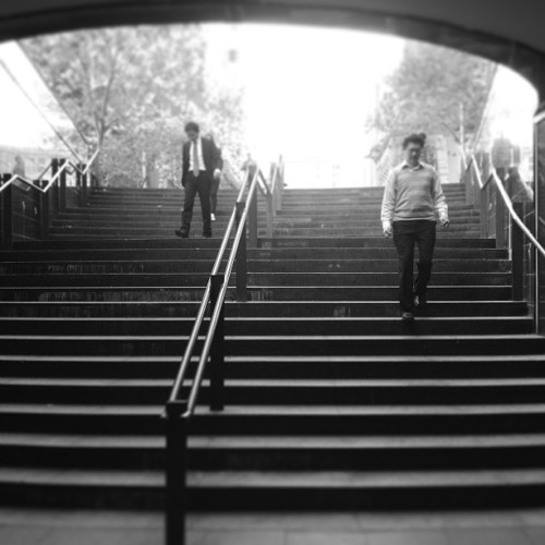 Steps #sydney #steps #city #martinplace #australia #black&white (at Martin Place Steps)