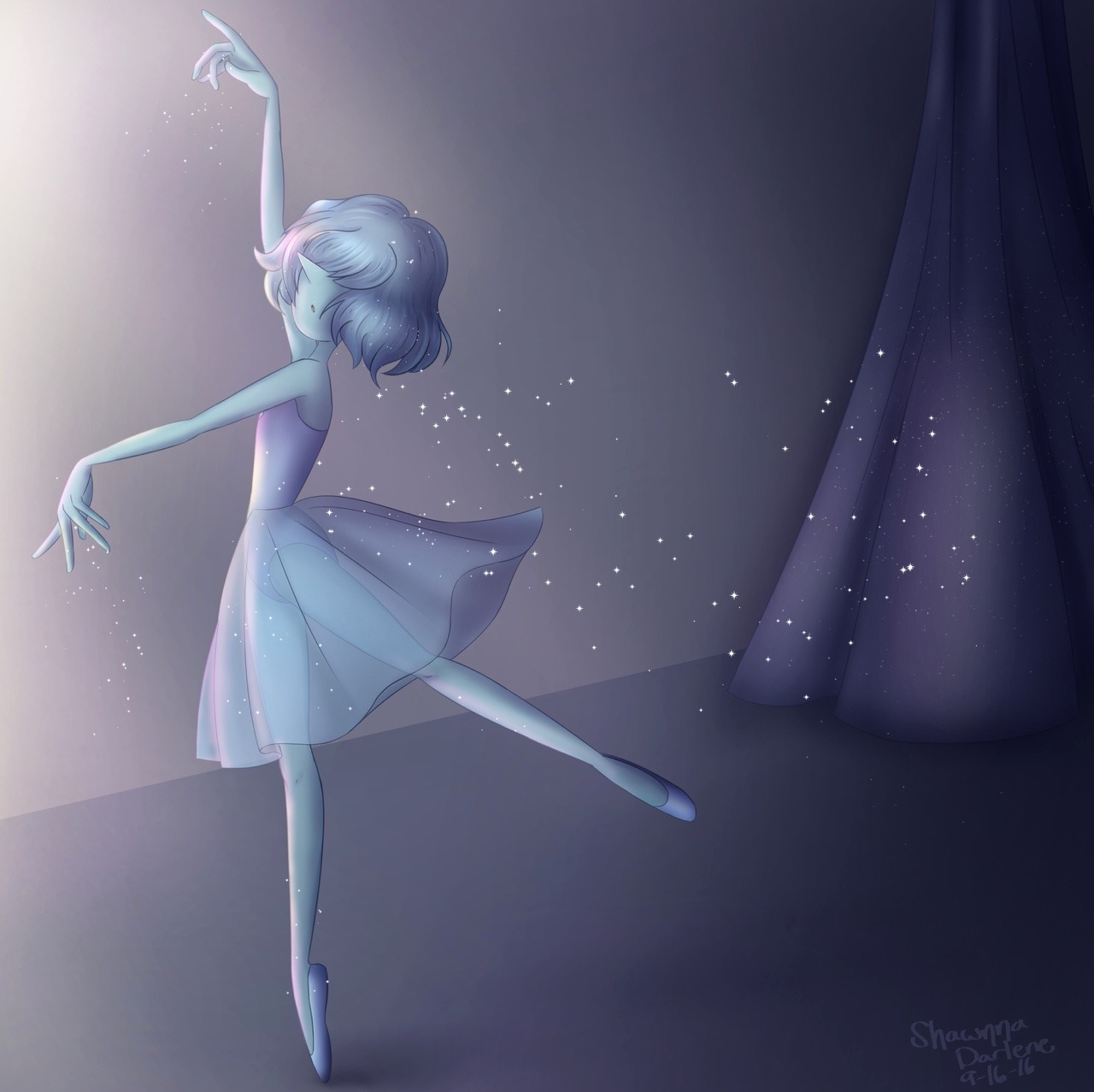 Blue Pearl is so pretty y'all I miss her