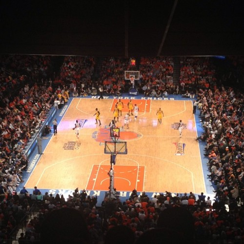 Let's go Knicks! @joshriman  (at Madison Square Garden)