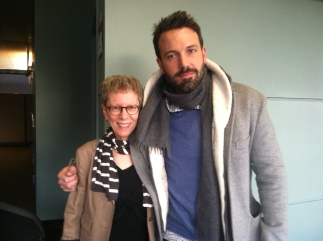 nprfreshair:  Look who dropped by the office yesterday. We'll have an interview with Mr. Affleck coming up next week.