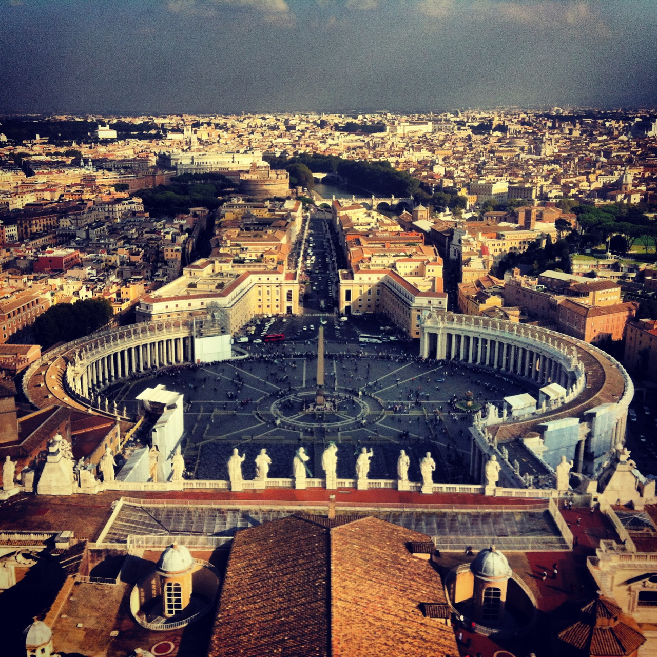 View of Vatican  | by © thegreatestgig