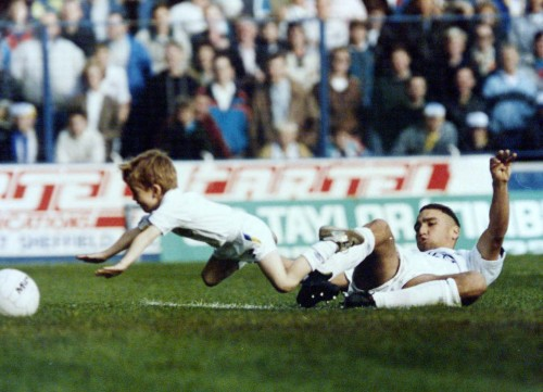 Vinnie Jones. A football hero.