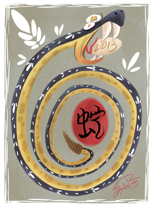 *~Happy 2013~* It's the Year of the Snake! apologies for lateness