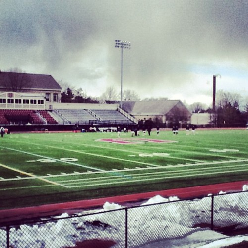 Chilly day at Frank Bailey Field  (at Frank Bailey Field)