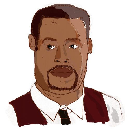 atencio:  danlecrook:  Jordan Peele from sketch show Key & Peele, still from 'Liam Neesons' sketch //   Terrifying / Beautiful  This is my jam though.