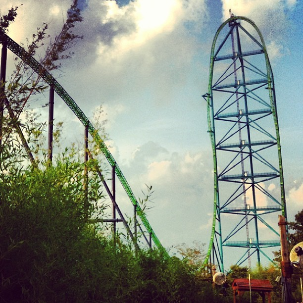 Kingda Ka at Six Flags Great Adventure #AmericanCoaster #RollerCoaster