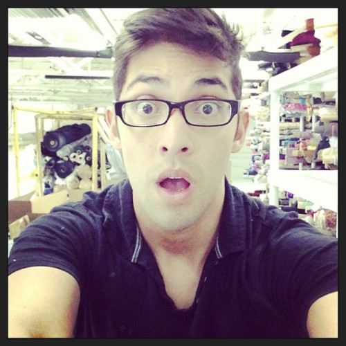 It's that big?  #work #boredom #nerdy #cute #glasses #gay #selfie #instagood #makingepicselfiemoments
