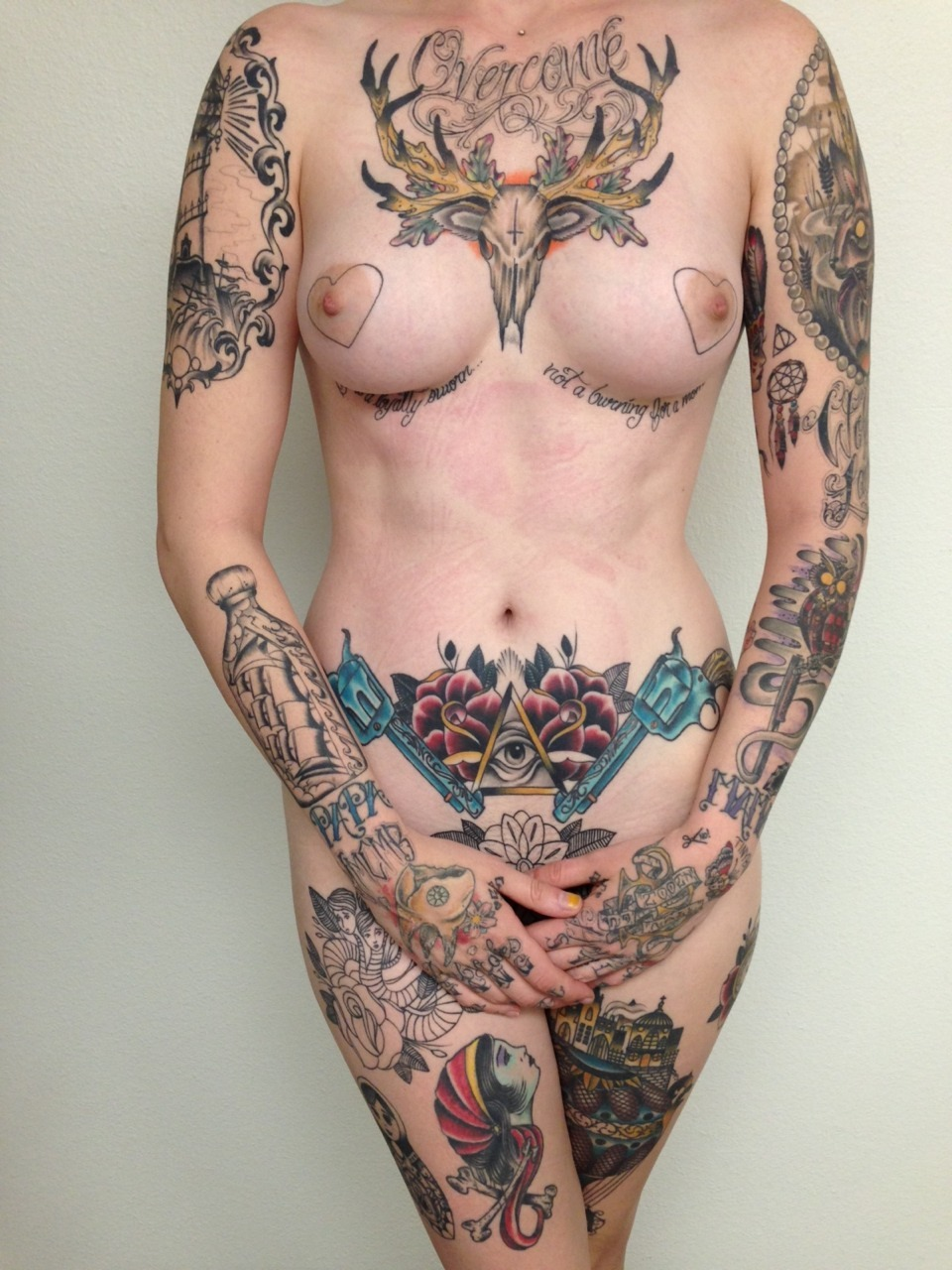 Sexy people with tattoos and cute animals blog!