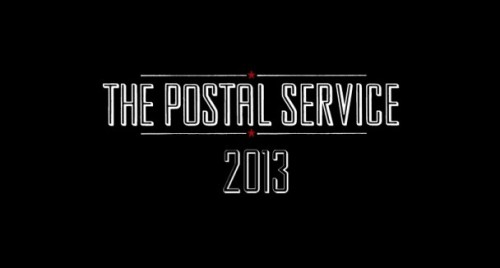 Postal service to reissue Give Up, play Coachella.