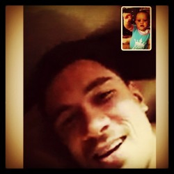 welovesbw:  Sonny on a videocall with his niece…cutest thing ever ♡‎