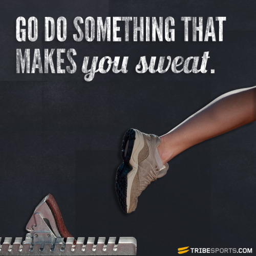tribesports:  What's your method of choice to get you sweating? Join in the discussion.
