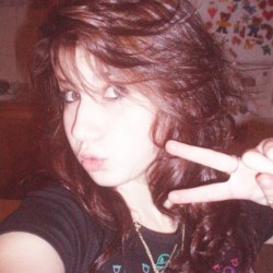 #throwback  Myspace days… CHECKLIST: ☑Duck Face ◻Emo Hair ☑Bright Flash = Good skin ☑Peace Sign ◻High Angle ◻Facial Piercing