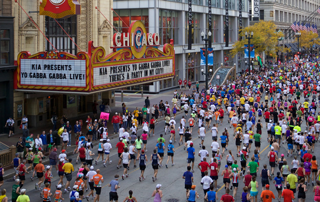 running4thehigh:  Can't wait for my 26.2 mile journey in Chicago.  😁