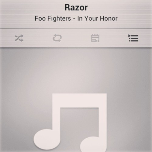 #Foofighters #deep #razor #davegrohl #rock #realmusic #Inyourhonor