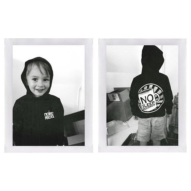 @nosleeprecords one-off made for this little man #nosleeprecords (cc @madisonchristi)