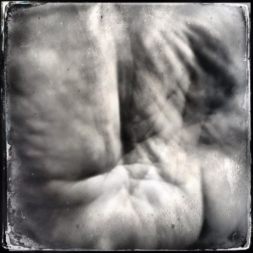 The Palm of My Hand. #iphoneography #hipstamatic #bw #hand #art #stuartdmt