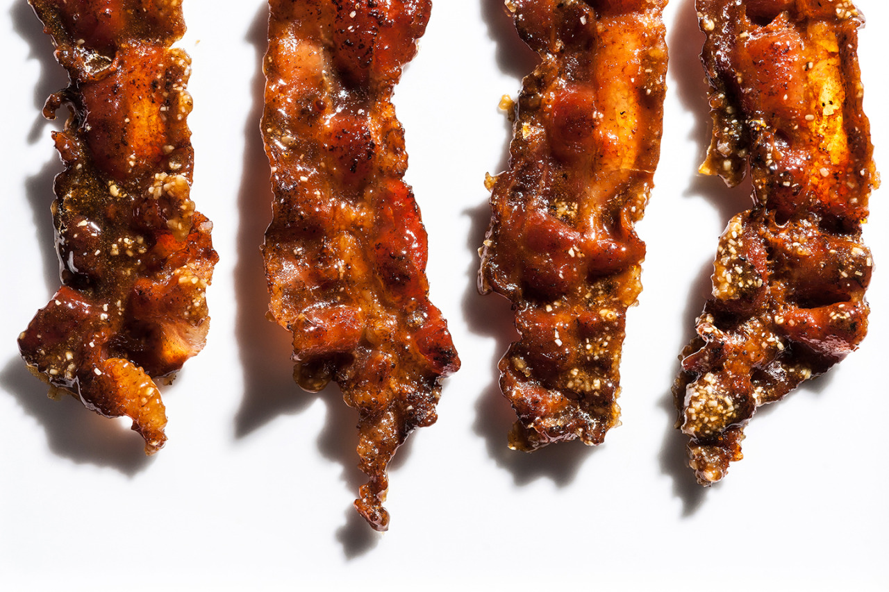 Candied Bacon - Gourmet: February 2007