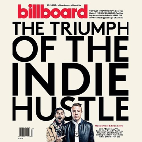 mackryan:  WE GOT THE COVER OF BILLBOARD MAGAZINE!!!! #sharkfacegang #independent